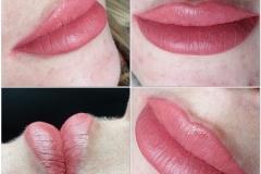 lippenpigmentierung frisch